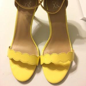 New York & Company Yellow Heels